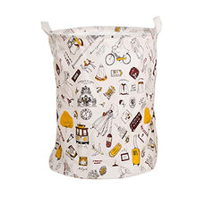 FANCY PUMPKIN Home Large Laundry Basket Bin Dirty Clothes Hamper for Clothes Storage and Organization, 17