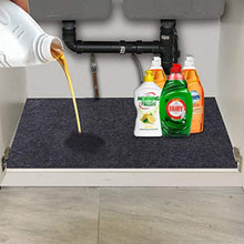 Under The Sink Mat,Kitchen Tray Drip,Cabinet,Absorbent Felt Layer Material,Backing Waterproof(36inches x 30inches)