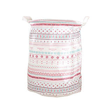 FANCY PUMPKIN Foldable Laundry Clothes Hamper Toy Storage Basket Laundry Bags with Handles, I