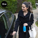 Image of Mira 12 Oz Stainless Steel Vacuum Insulated Water Bottle   Double Walled Cola Shape Thermos   24 Hou