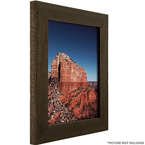 Craig Frames 1.5DRIFTWOODBK 8 x 10-Inch Picture Frame, Wood Grain Finish, 1.5-Inch Wide, Weathered Black