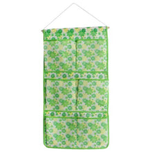 [Green Flowers] Green/Wall Hanging/ Wall Organizers / Baskets / Hanging Baskets (13*24)