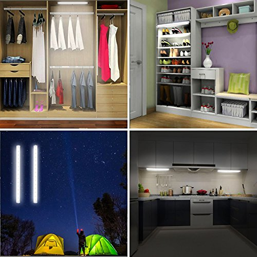 Led Mirror Lights, Portable Vanity Lights | Simulated Daylight | 4 Brightness Level Touch Control |