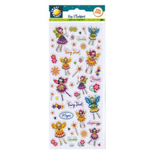 FUN STICKER FLORAL FAIRIES by Craft Planet