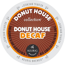 Donut House Collection Decaf, Single Serve Keurig K Cup Pods, Light Roast Coffee, 24 Count