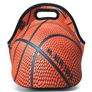 Image of Icolor Basketball Insulated Neoprene Lunch Bag Tote Handbag Lunchbox Food Container Gourmet Tote Coo