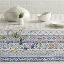 Image of Maison D' Hermine Faã¯Ence 100% Cotton Tablecloth For Kitchen Dinning Tabletop Decoration Parties We