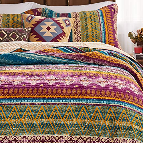 Greenland Home 2-Piece Southwest Quilt Set, Twin