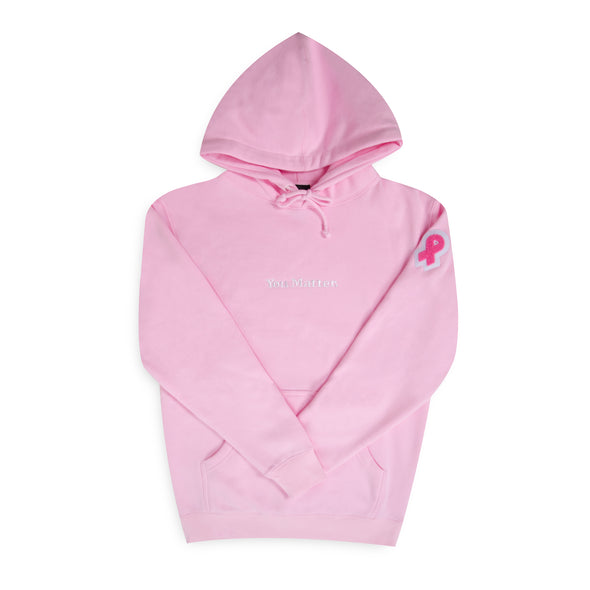 """You Matter"" Hoodie - 2019 Breast Cancer Awareness Edition - Pink"