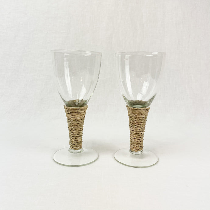 Seagrass Wine Glass, small