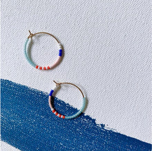 Load image into Gallery viewer, Santorini Hoop Earrings