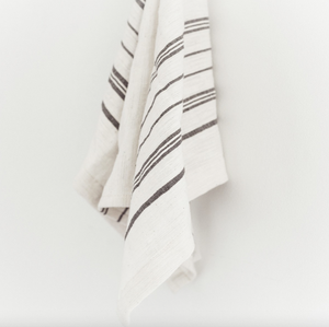 Handwoven striped tea towel by Creative Women