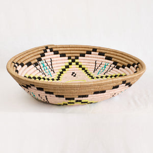 Plateau basket bowl by Indego Africa