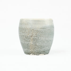 Small blue-grey ceramic cup by Totem Home