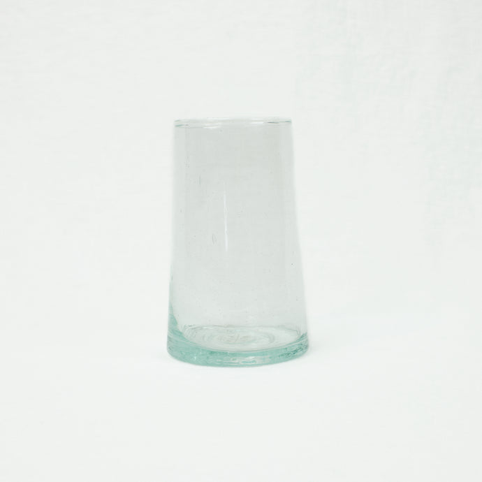 Large recycled glass tumbler by Hawkins NY.