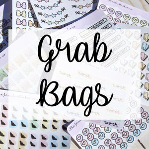 Mini Sheet grab bags
