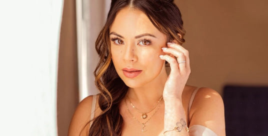 Janel Parrish Dishes on Her Cosmic-Themed Jewelry Line and the Meaningful Reminders She Hopes It Can Offer
