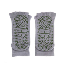 Load image into Gallery viewer, Yoga Grip Toe Socks - Gray