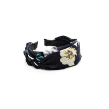 Load image into Gallery viewer, Ophelia Headband - Black Floral
