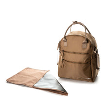 Load image into Gallery viewer, BackPack Diaper Bag - Tan