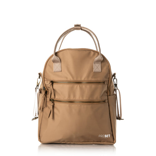 BackPack Diaper Bag - Tan