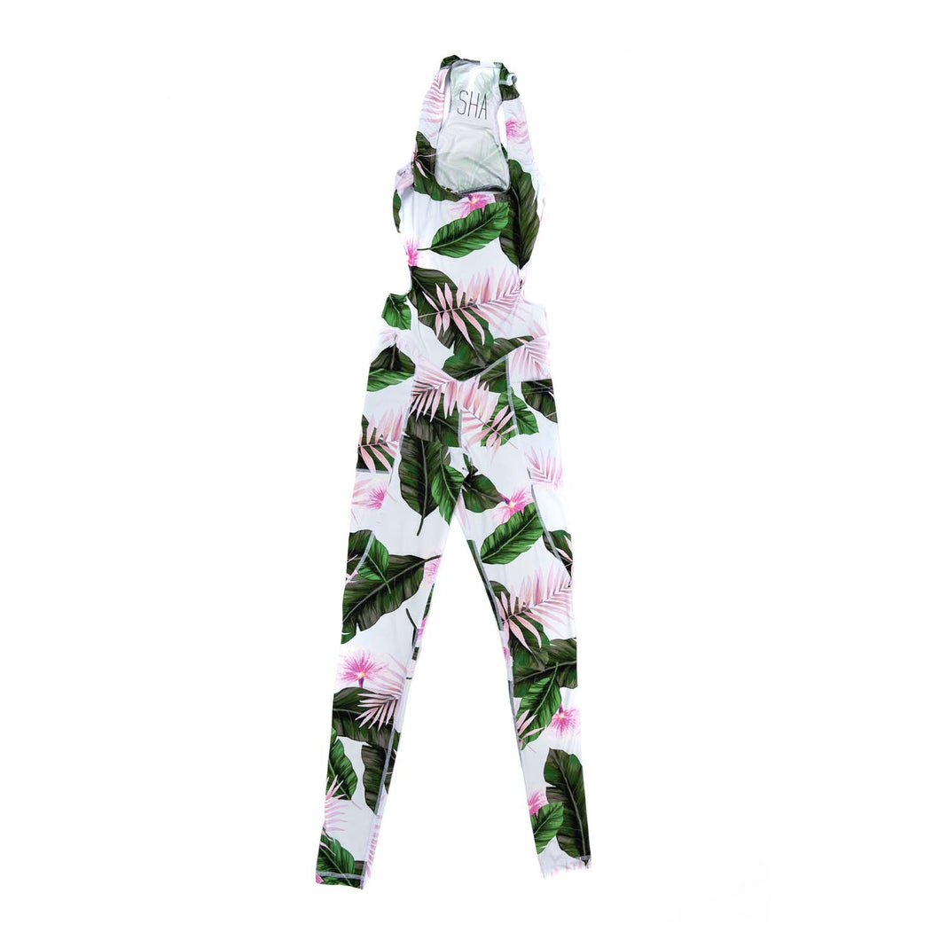 Yoga Jumpsuit - Hot Tropics