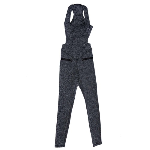 Yoga Jumpsuit Om Gray