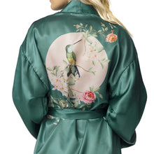Load image into Gallery viewer, Hummingbird Kimono Robe