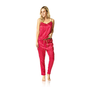 Claudine Sleep Set - Pink Lava