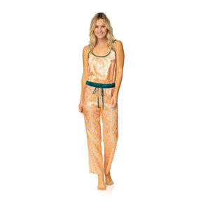 Harper Jumpsuit Sleep Set - Teal Floral