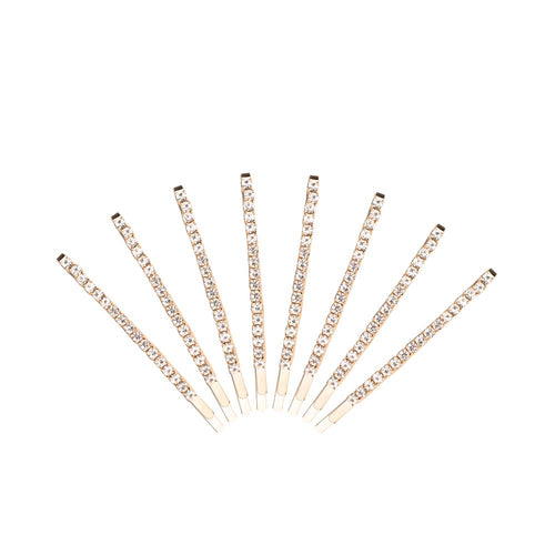 Stacked in Sparkles 8-Piece Bobby Pin Set
