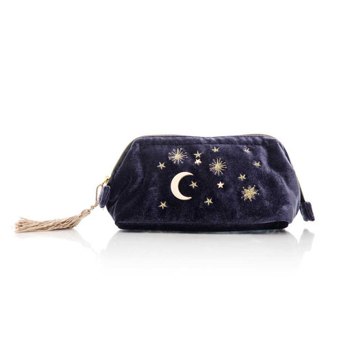 Starry Night Cosmetic Bag - Midnight