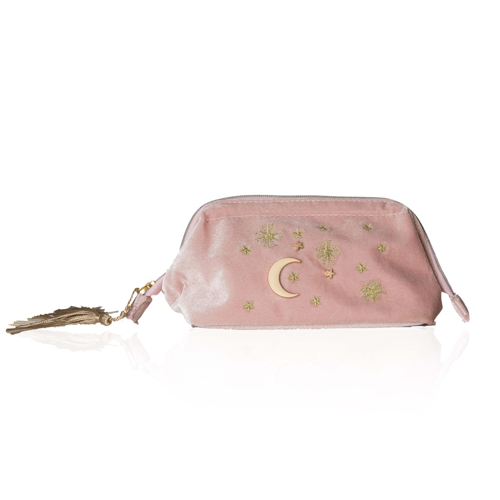 Starry Night Cosmetic Bag - Blush