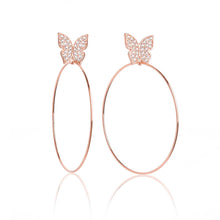"Load image into Gallery viewer, Butterfly Signature 2"" Earrings"