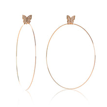 "Load image into Gallery viewer, Butterfly Signature 4"" Earrings"