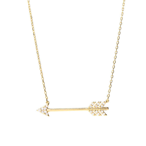 On Point Arrow Necklace