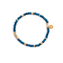 Load image into Gallery viewer, Faceted Mixed Bead Bracelet