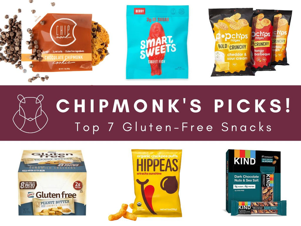 ChipMonk's Picks: Top 7 Gluten-Free Snacks!