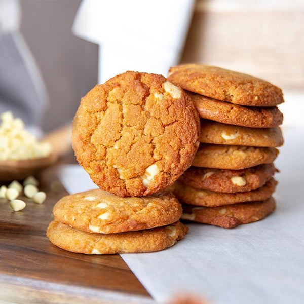 ChipMonk Cookies Keto Sugar-free gluten-free low-carb ChipMonk Baking Mega Box (12 Cookies) White Chocolate Macadamia