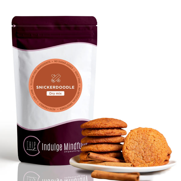 Cinnamon Snickerdoodle Dry Mix Keto Sugar-free gluten-free low-carb ChipMonk