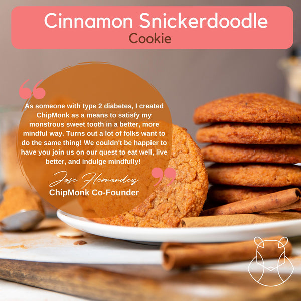 Cinnamon Snickerdoodle Dry Mix Keto Sugar-free gluten-free low-carb Makes 20+ Cookies