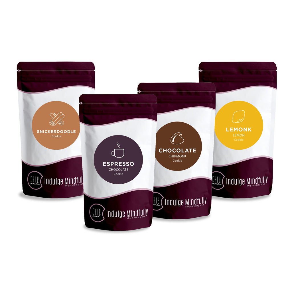 Cookie Dry Mix Bundle Keto Sugar-free gluten-free low-carb Try All 4 Flavors & Save 15%