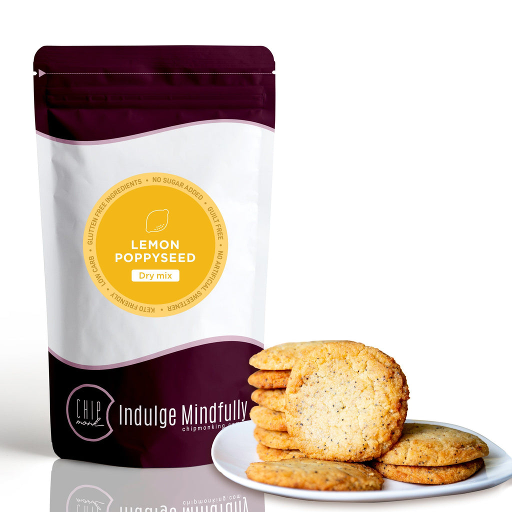 Lemon Poppyseed Dry Mix Keto Sugar-free gluten-free low-carb ChipMonk