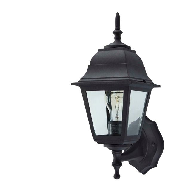 technology-Coach Outdoor Wall Lantern / Sconce Reversible Waterproof Light - Black