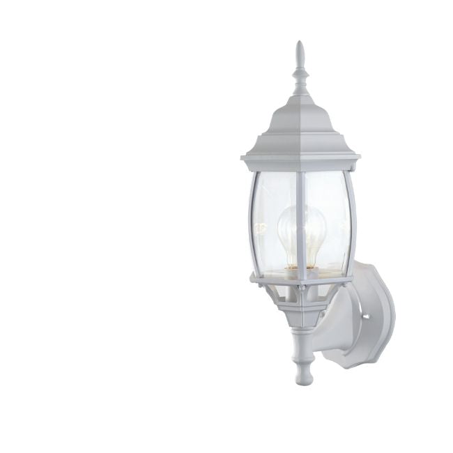 technology-Nobela Outdoor Wall Lantern / Sconce Waterproof Up-Facing Light - White
