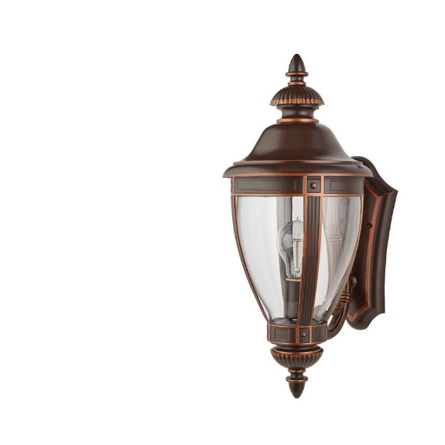 technology-Manor Outdoor Wall Lantern / Sconce Up-Facing Waterproof Light - Bronze