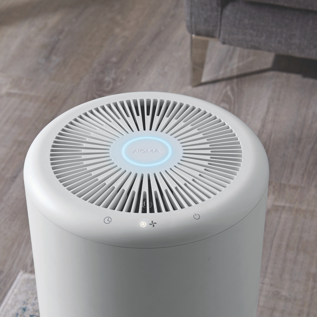 technology-Air Purifier True HEPA With Ionizer And Washable Filter For Large Rooms
