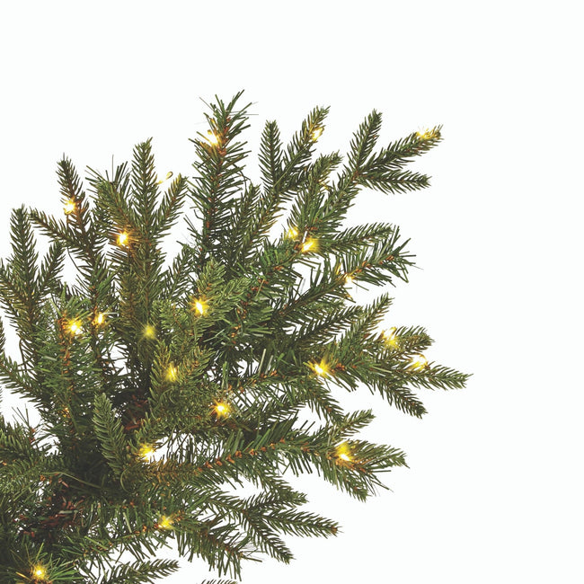 technology-Arctic Spruce 5-Ft Potted Christmas Tree - 200 Micro-Brite LED Lights