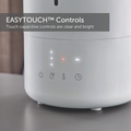 Ultrasonic humidifier EASYTOUCH control panel closeup
