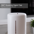 Rotating Vapor Cap close up - Medium 3.5L ultrasonic humidifier